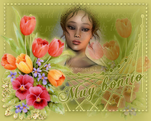 Flores de Cinta para el pelo Dama_flores_muy_bonito