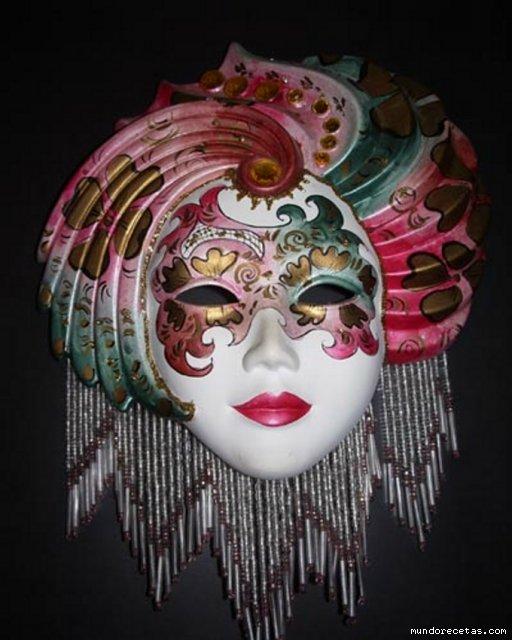 mascara_veneciana - CREACIONES LILIÁN - Gabito Grupos