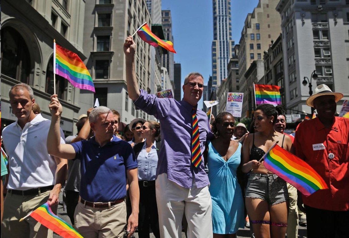 El orgullo gay de Nueva York 2010