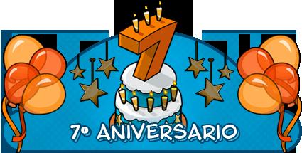 Feliz aniversario 7 años - Imagui