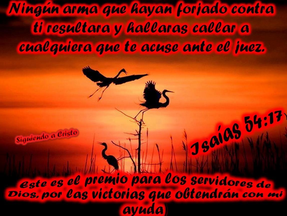 Isaias 54 17 Espanol Isaias 54 17 Congregacion