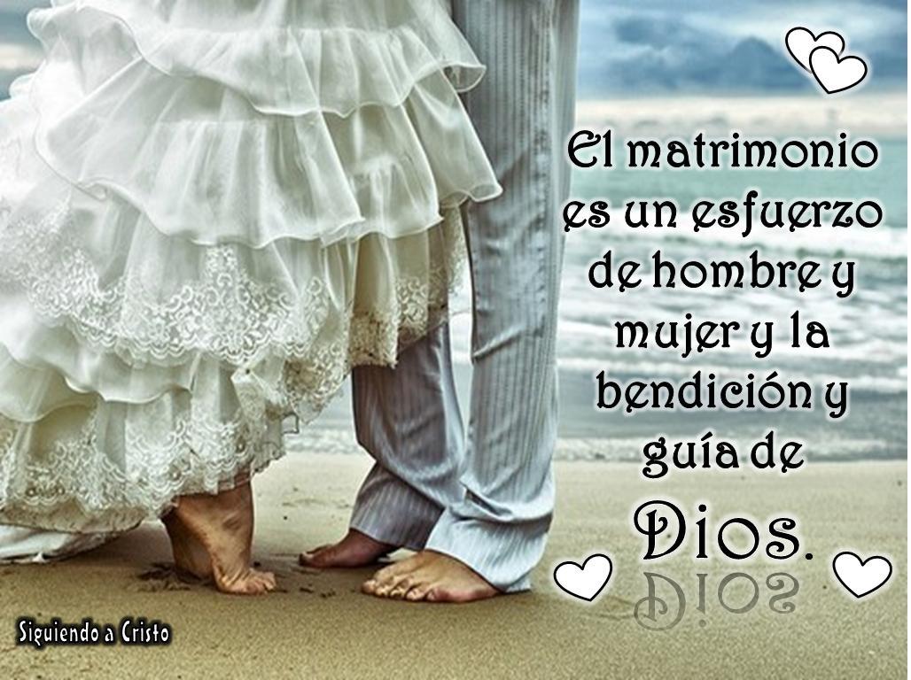 Bendicion Matrimonio Biblia : Matrimonio es un esfuerzo de hombre y mujer la bendicion