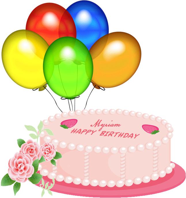 Pink_Happy_Birthday_Cake_PNG_Clipart - fuente-de-vida - Gabitos