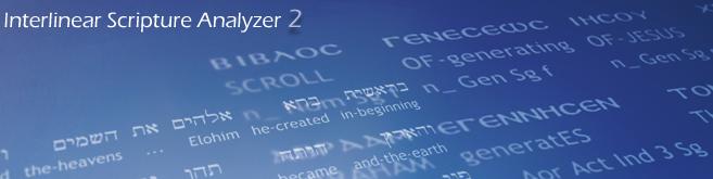 Interlinear Scripture Analyzer, ISA, Estudiar la biblia, original Hebreo y Griego,Scripture4all, Comentarios, Biblia, Diccionarios, Lo mejor, Las mejores